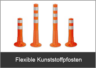 Flexible Kuststoffpfosten