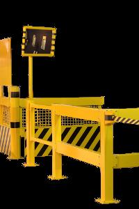 Geländerschutzmodule aus Stahl